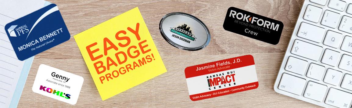 Easy Badge Program Banner