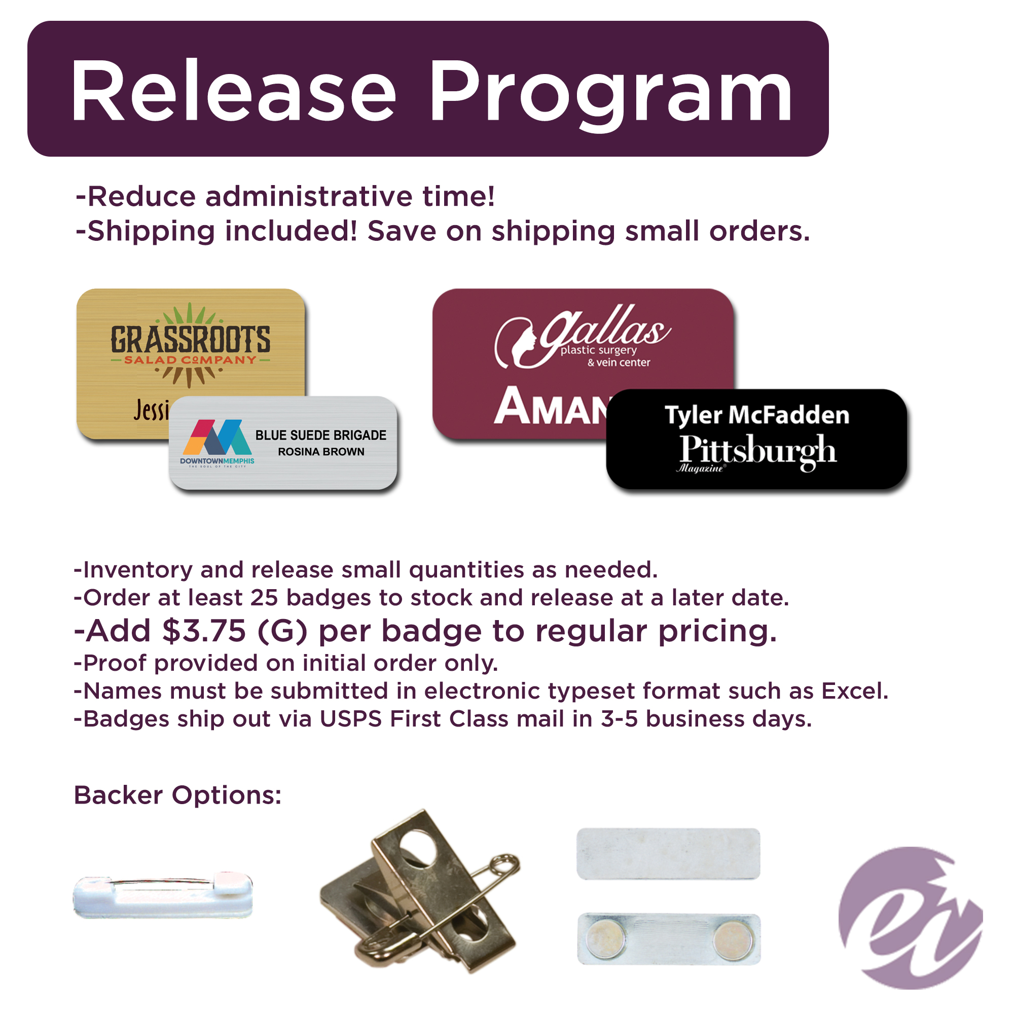 Release Program Details