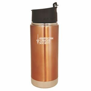 Scout Rose Gold 16oz Vacuum Insulated Double Wall Stainless Steel Bottle