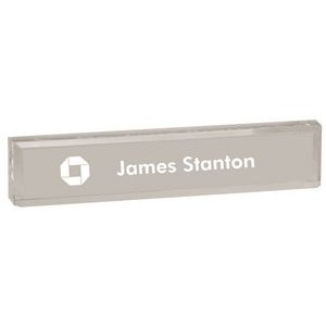 Acrylic Name Bar, Laser Engraved, 2