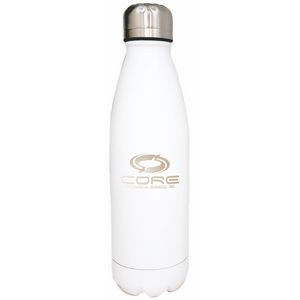 Swig White 17 oz. Stainless Steel Vacuum Insulated Bottle