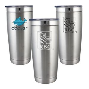 Lil' Boss 22oz. Double Wall Vacuum Insulated Stainless Steel Tumbler With Sliding Lid